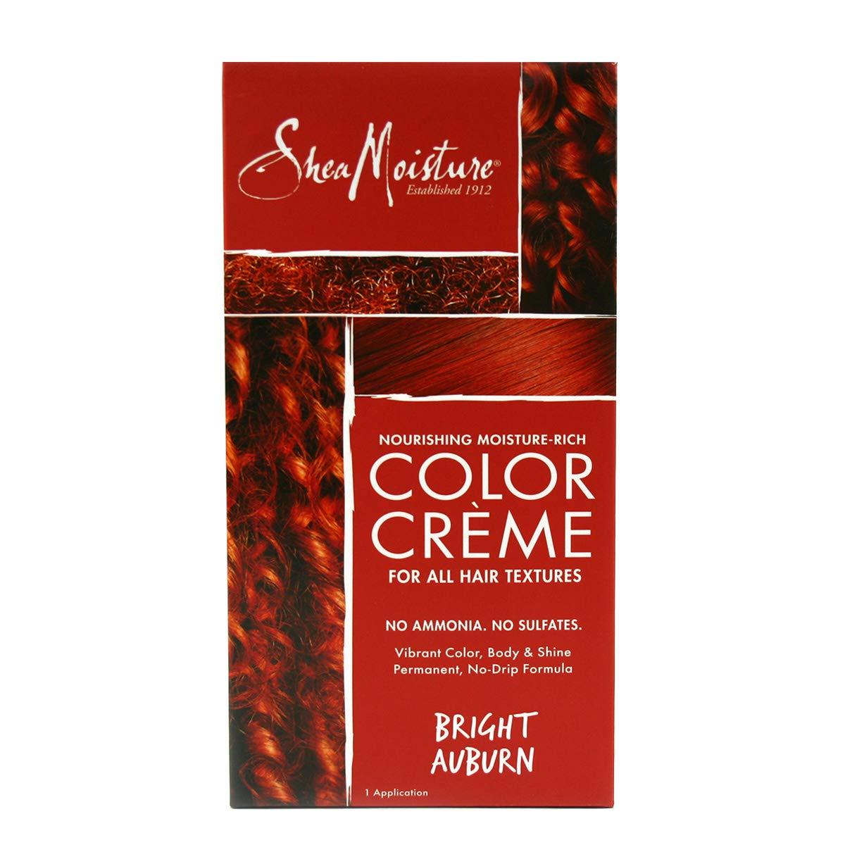 Nourishing Moisture Rich Hair Color System Bright Auburn By Shea