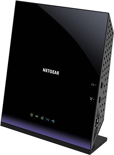 NETGEAR AC1600 WiFi VDSL/ADSL D6400 Modem Router