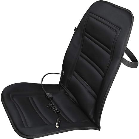 1f91db8ac Amazon.com  OxGord Heated Car Seat Cushion - Auto Seat Cover Warmer ...