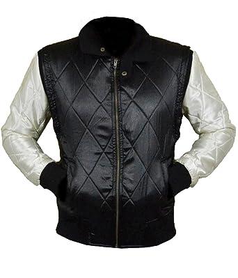 Xxs Black Gosling 5xl Blanche Scorpion Satin Veste VzpqUGSM