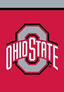 "Briarwood Lane Ohio State Buckeyes Garden Flag NCAA Licensed 12.5"" x 18"""