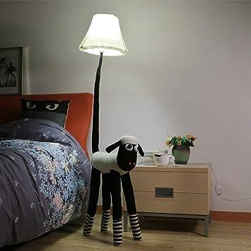 ZLL Lámpara de pie para el hogar, Lectura de pie de pie ...