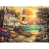 Buffalo Games - Rompecabezas de 1000 Piezas de, Chuck Pinson, Cottage by The Sea