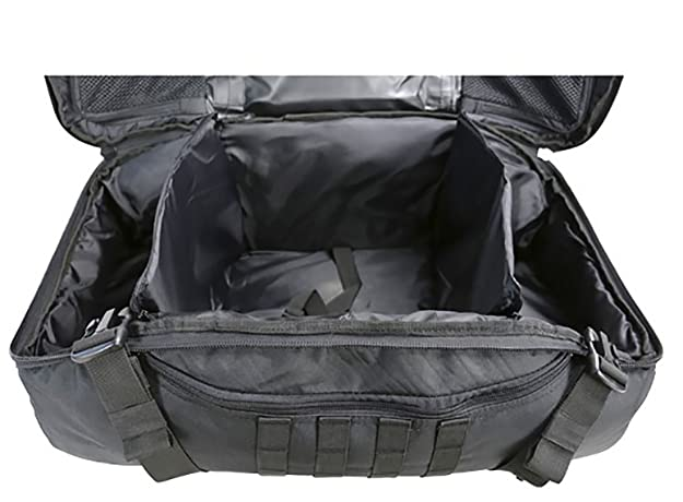 cb4424dfc60 Army Combat Military Operators Duffle Kit Bag Travel Holdall Rucksack  Black: Amazon.co.uk: Shoes & Bags