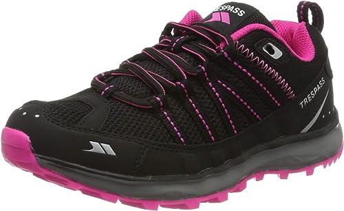 Trespass Triathlon, Zapatillas de Running para Asfalto para Mujer, Negro (Black), 36 EU: Amazon.es: Zapatos y ...