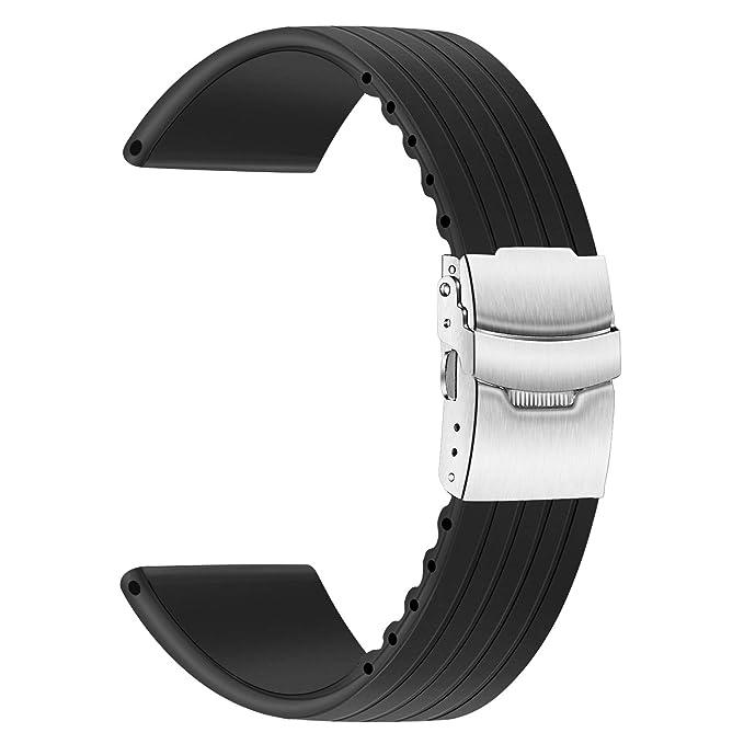 TRUMiRR - Correa de Silicona para Reloj Samsung Gear S3 Classic ...