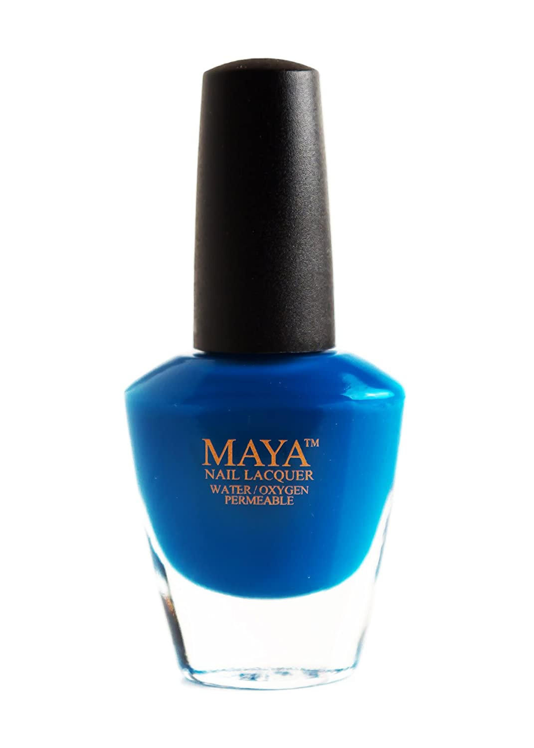 MAYA Nail Lacquer (SuperGirl)  Breathable,Halal, Made in the USA, and