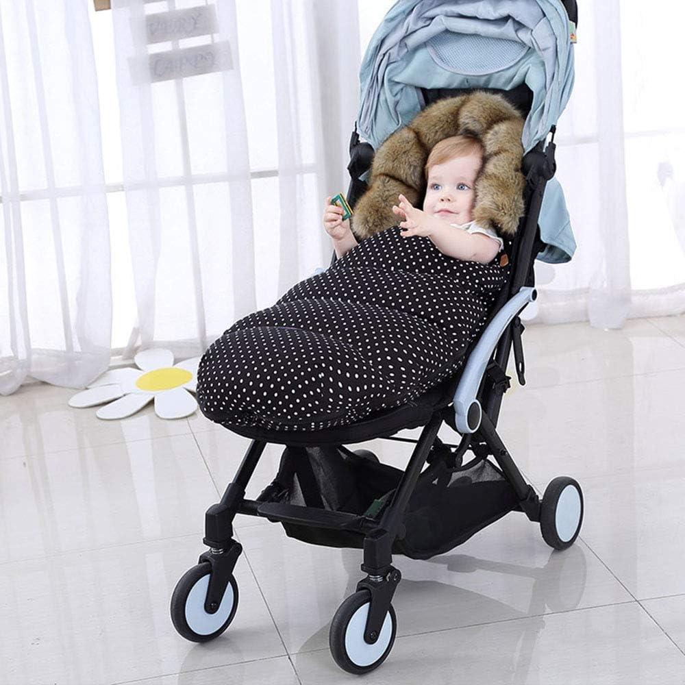 Babyschale Braun Autositz Fu/ßs/äcke f/ür Kinderwagen Universal Winter Warm Wasserdicht Winddicht Waschbar Baby Schlafs/äcke f/ür Kinderwagen Buggy Sportwagen