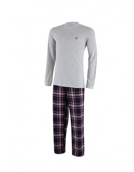 Impetus, pijama hombre, gris, talla M
