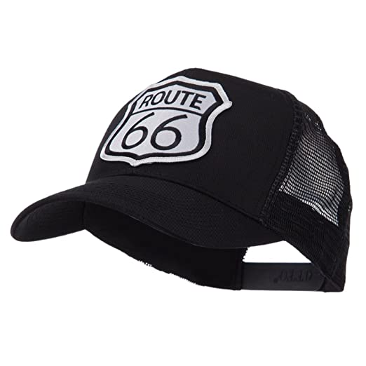 934fd3527 OTTO:ACE WORLD ETC Embroidered Military Patched Mesh Cap - Route 66 W42S71F