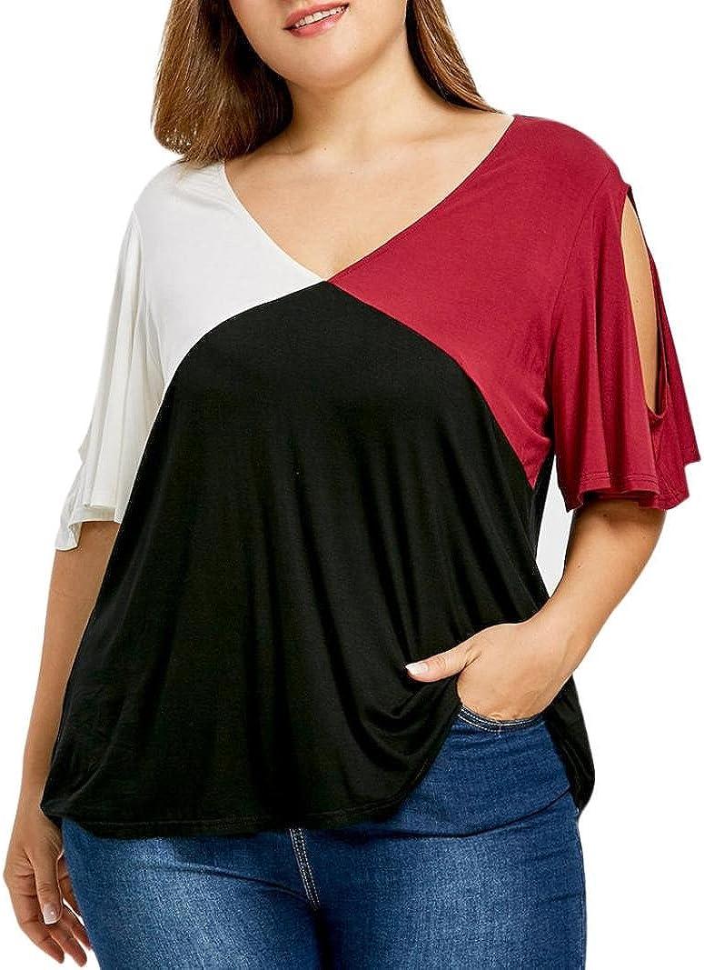 FAMILIZO Camisetas Mujer Verano Camisetas Mujer Blusa Mujer Elegante Camisetas Mujer Casual Manga Corta Camisetas Mujer Fiesta Camisetas Sin Hombros Mujer Floral: Amazon.es: Ropa y accesorios