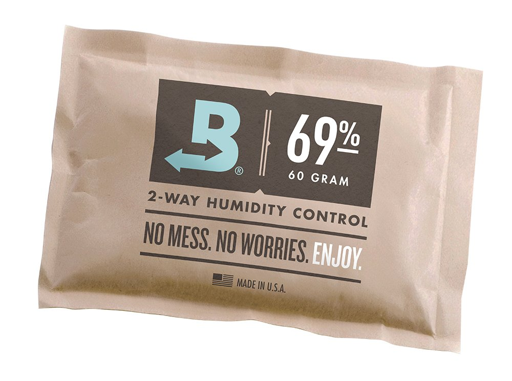 Boveda 58% RH Individually Overwrapped 2-Way Humidity Control, Large 67 gram size … Large 67 gram size … B58-67-OWB