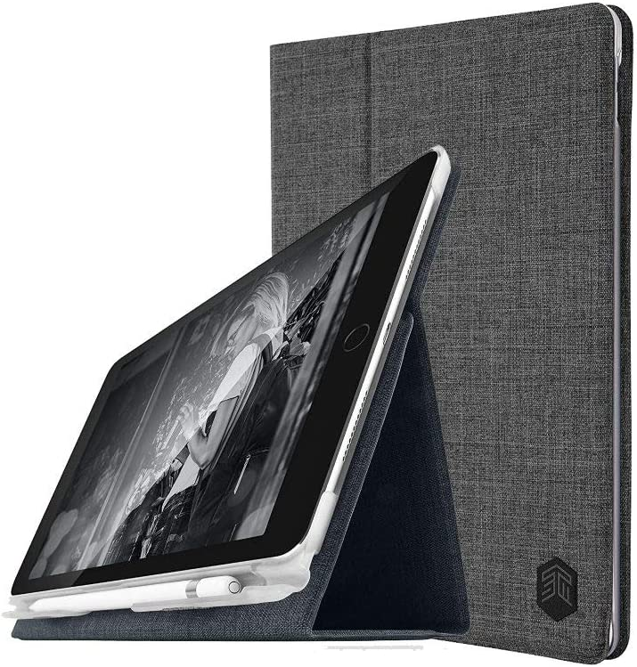 STM Atlas Slim Folio Case for 10.5 iPro Pro - Charcoal (stm-222-166JV-16)