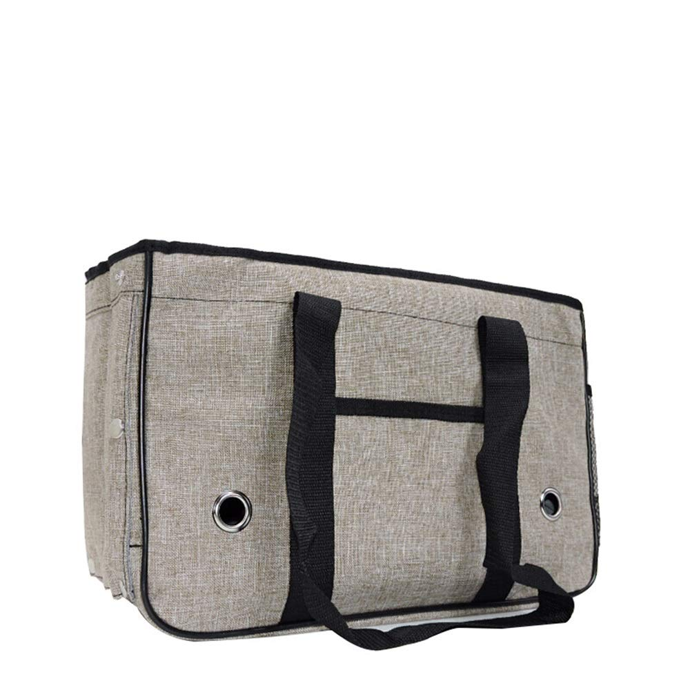C 40X15X26CMByx Pet Bag  Pet Folding Tote Bag Dog Bag Out Travel Bag Portable Pet Tote Pet Backpack (color   B, Size   40X15X26CM)