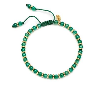 Lola Rose Oxford Bracelet Dark Green Quartzite xvNCh1A30