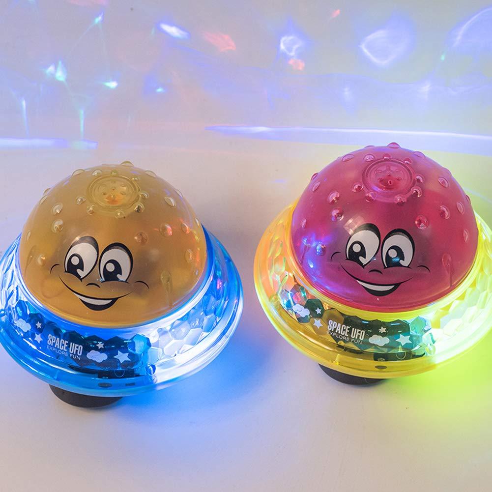 Keine Base, rot Luchild Automatische Induktions Sprinkler Babyspiel Wasserbad Spielzeug Schwimmende Badespielzeug F/üR Babys Badewanne-Dusche-Pool Badezimmer-Spielzeug F/üR Babys