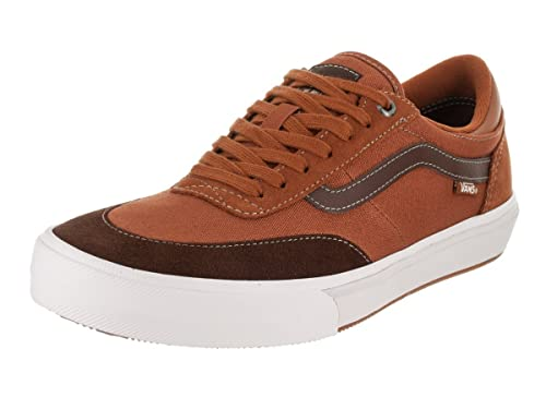8610589c07af23 Vans Men s Gibert Crockett Leather Brown Potting Soil Skate Shoe 7 Men US