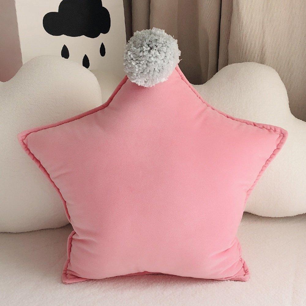 クリエイティブ星枕洗濯可能プリンセススタイルぬいぐるみクッションNap Pillowソフトで快適なソファクッション60 60 cm w1 B07B6LQZXT  B