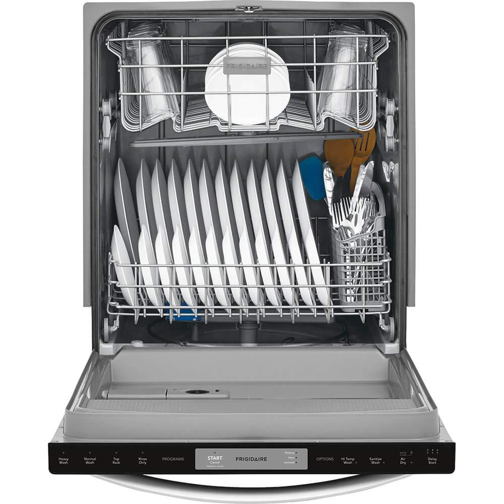 Black Stainless Steel Frigidaire FFID2426TD 24 Built-in Dishwasher 24 inch