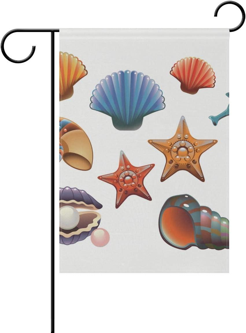 DEZIRO - Bandera de jardín con diseño de Caballito de mar ...