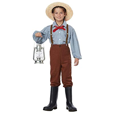 California Costume Pioneer Boy Costume: Toys & Games