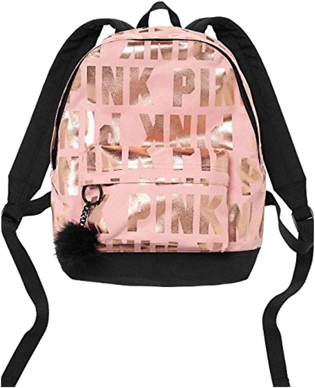 LIMITED EDITION CLEAR JELLY TOTE WITH VS DOG // PUP SIGNATURE MINI Backpack WITH FUZZY KEYCHAIN PINK VICTORIA SECRET SOLD OUT