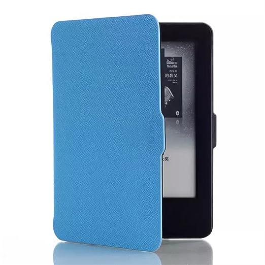 91 opinioni per Ultra Sottile Book-Shell Flip Folio Case Custodia in Pelle per Amazon Kindle