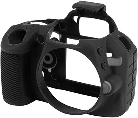 Walimex Pro EasyCover - Funda para cámara Nikon D3100, Negro ...