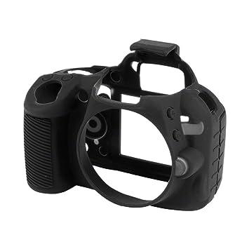 Walimex Pro EasyCover - Funda para cámara Nikon D3100, Negro