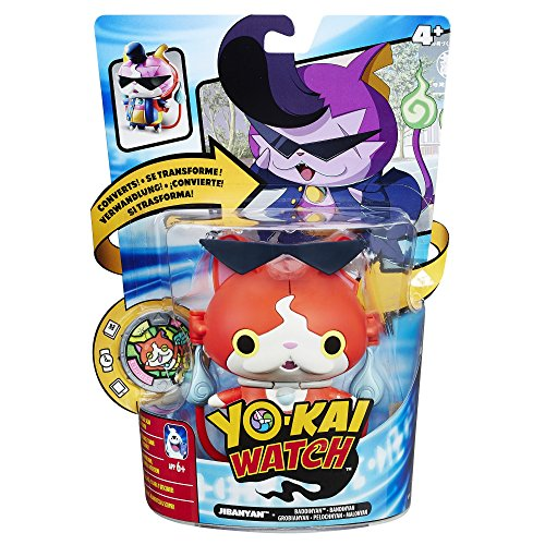 Hasbro, Kai Watch B5947EL5Transformation Figure jiba Nyan, Collectible Toy