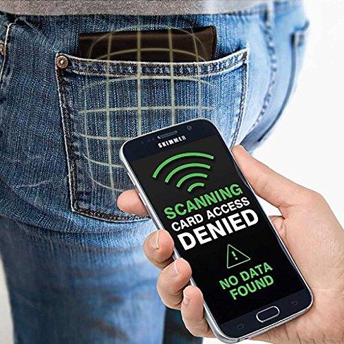 Pochette /Étui de Protection Anti RFID pour Prot/éger et S/écuriser Vos Cartes Bancaire du Piratage et des Fraudes SHOP-STORY