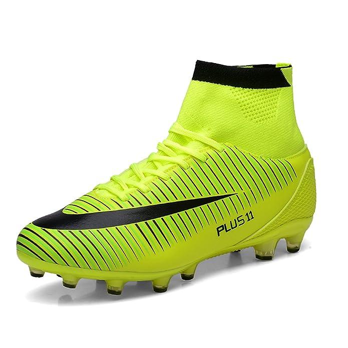 La Performance Aleader - Chaussures De Football Homme Caoutchouc, Orange, Taille 39,5 Eu
