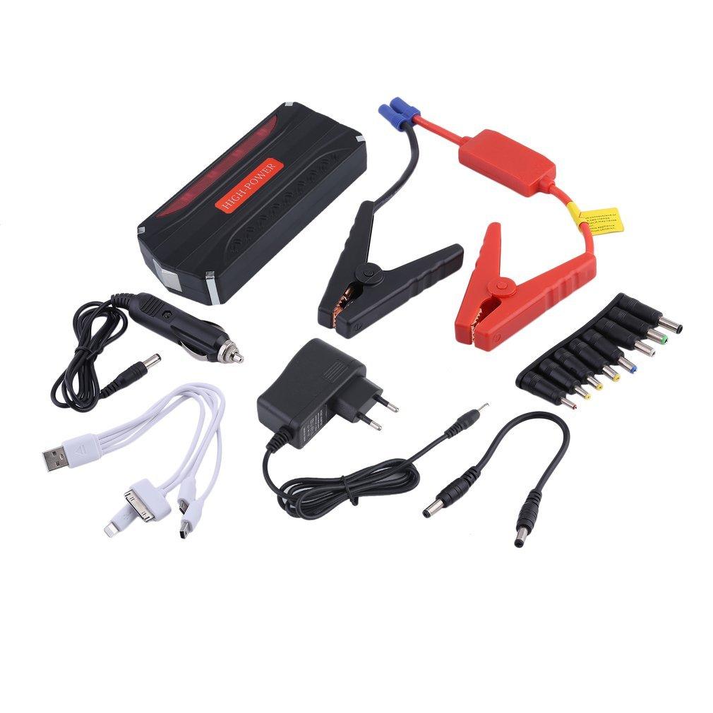 Auto Starthilfe 10000mAh Power Bank Auto Jump Starter Batterie Tragbare Fahrzeugbatterie Laden Notfall Booster Hifeel