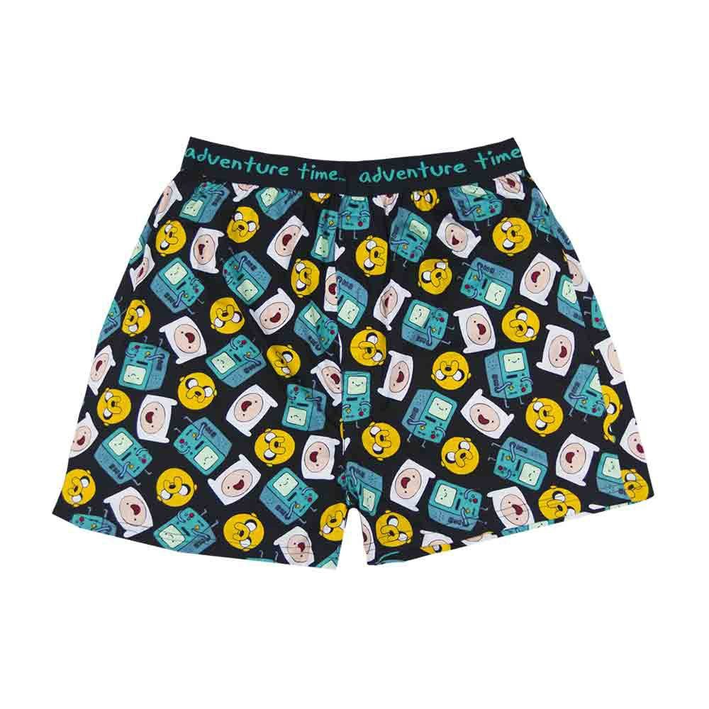 Adventure Time Beemo, Finn & Jake All Over Boxer Shorts Toy Zany