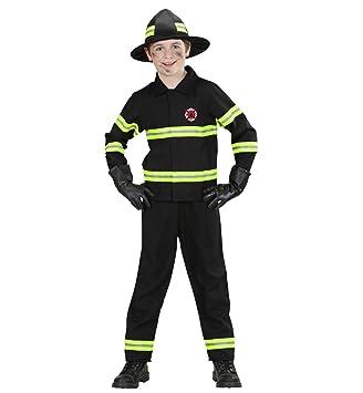 WIDMANN 76577 - Disfraz de bombero para niño (talla 140): Amazon ...