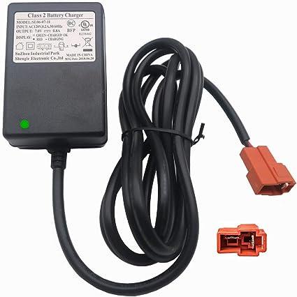 Amazon.com: 6 V cargador de cuadrado BMX X6 cargador de ...