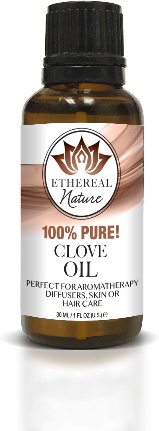 Ethereal Nature 100% Pure Oil, Clove, 1.01 Fluid Ounce