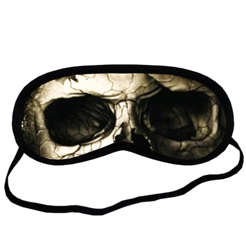 Hells skull EYM330 Eye Printed Travel Eye Mask Sleeping