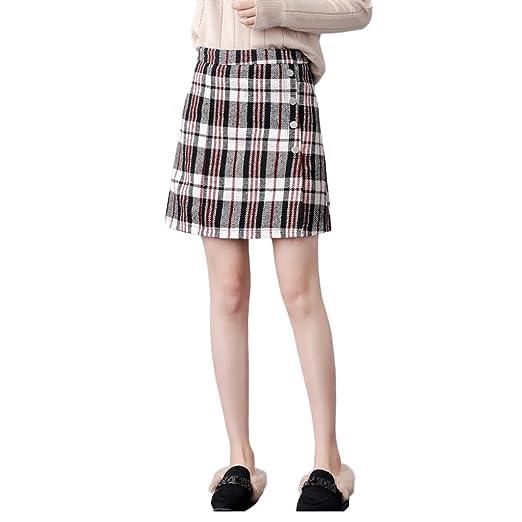 LINSYT La falda larga recta elegante de la falda recta del ...