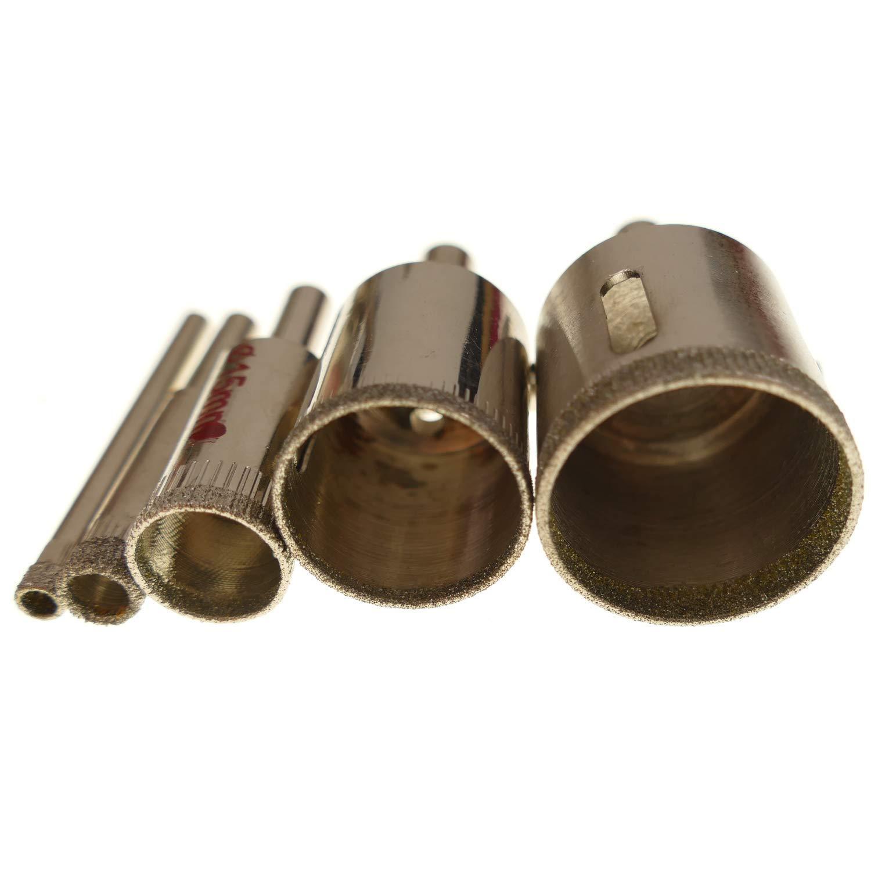 Glasbohrer Fliesenbohrer Hohlbohrer Glasschneider Kernbohrer Glas Fliesen Bohrer Durchmesser 13mm