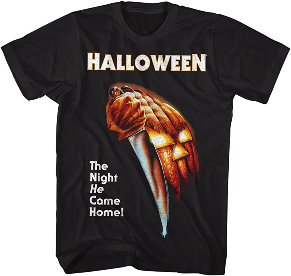 Halloween The Night He Came Home Tshirt XXX-Large Black