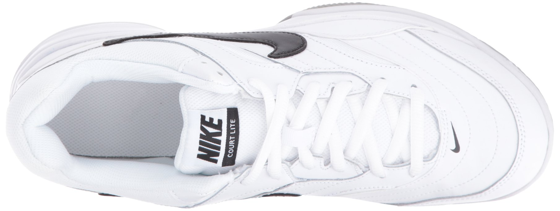 NIKE Men's Court Lite Tennis Shoe, White/Medium Grey/Black, 6.5 D(M) US by Nike (Image #8)