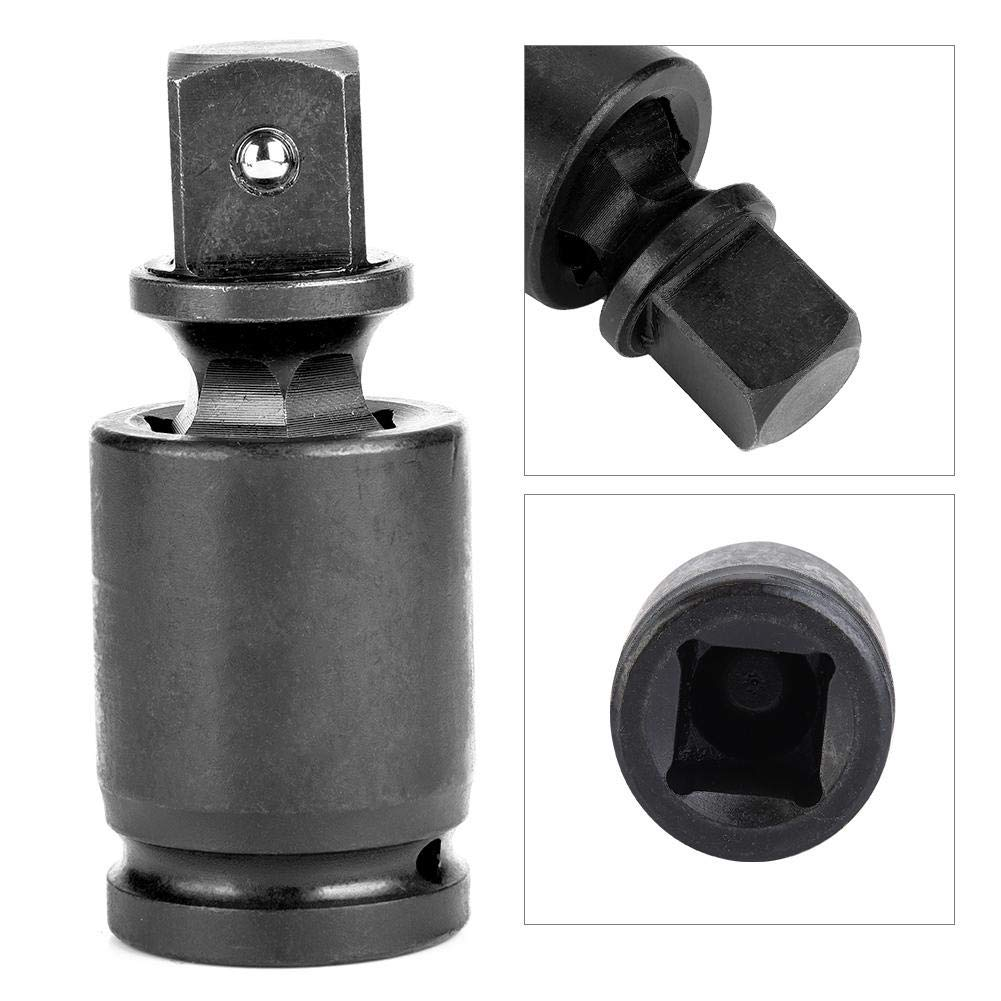 Impact Universal Joint 1//4 1 3//4 3//8 1//2 1//4 Air Impact Wobble Socket 360 /° Swivel Adapter Drive Universal Joint Pneumatic Wrench Electric Wrench Ratchet Wrench Corrosion Resistance
