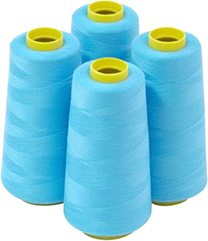 All Purpose Sewing /& Quilting 100/% polyester Thread 12 Spools 400 yard each roll
