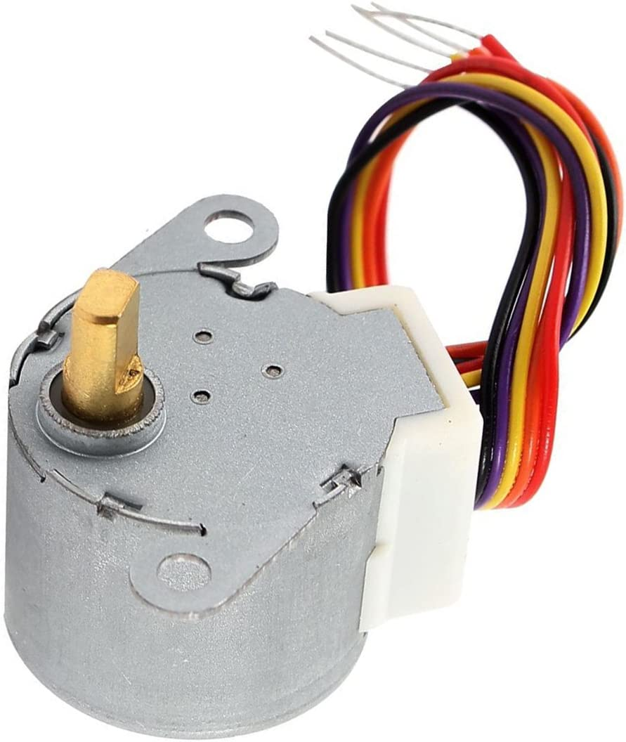 24BYJ48 12VDC CNC Reducing Stepping Stepper Motor 0.6A 10oz.in