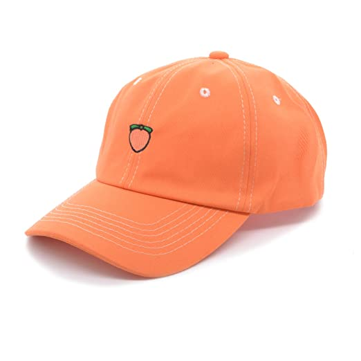 13c0d7407 PT FASHIONS Dad Hat Baseball Cap Mesh Back Fruit Embroidered Outdoor ...