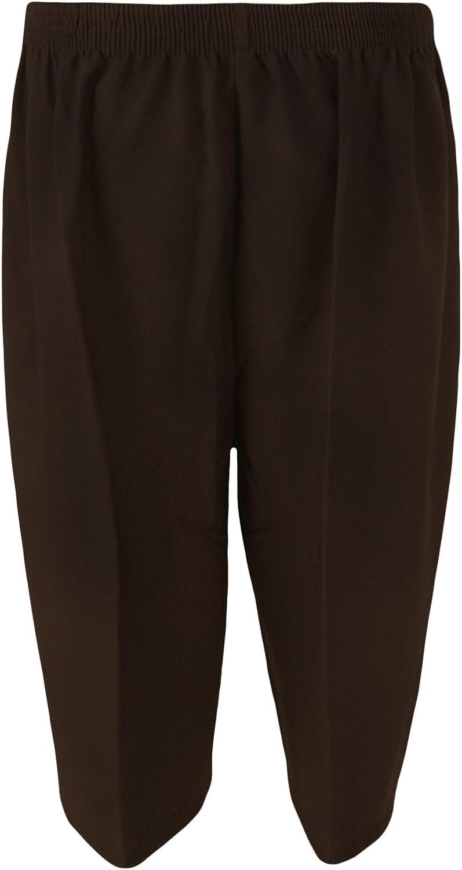 WearAll Gr/ö/ße 40-52 /Übergro/ße Damen Gummizug Hose Frauen Shorts 5 Farben