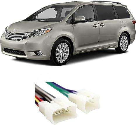Toyota Prius//Prius Plug-in 2012-2015 Double DIN Stereo Harness Radio Dash Kit