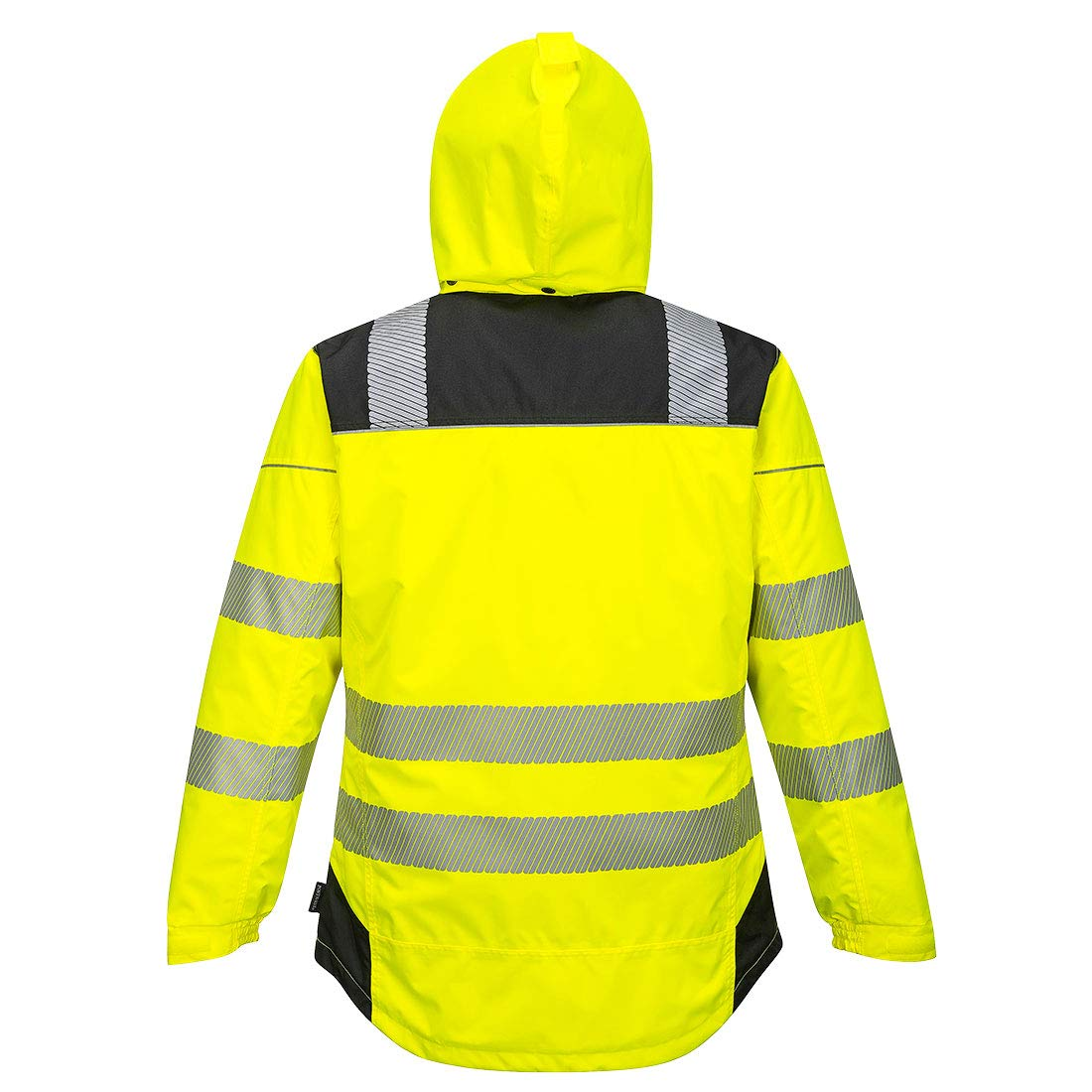 Portwest PW3 Hi-Vis Winter Jacket Work Safety Protective Reflective Waterproof Coat ANSI 3, XXL by Portwest (Image #4)