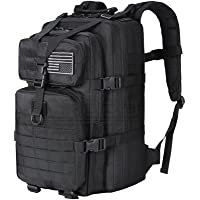 Military Tactical Backpack Army 3 Day Assault Pack Molle Bug Out Bag Backpack Attack Rucksacks for Hiking Camping Trekking Hunting